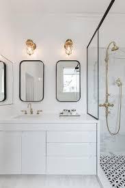 Attractive Black Bathroom Mirror Black Bathroom Mirrors Design