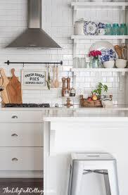 white cottage kitchens. City Farmhouse - Kitchen Inspiration {lily Pad Cottage} White Cottage Kitchens E