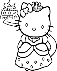 You might also be interested in coloring pages from hello kitty category. Download Hd Hello Kitty And A Nice Castle Coloring Page Coloring Pages To Print Princess Transparent Png Image Nicepng Com