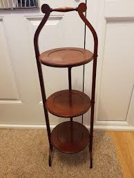 wooden folding 3 tier cake stand 1 of 4free