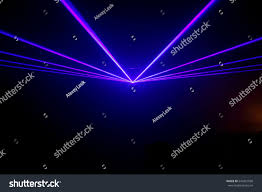 Laser Light Party Machine Lights Show Laser Show Night Club Stock Photo Edit Now