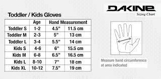Dakine Size Guide