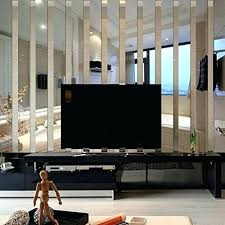 mirror wall wall decor long rectangle acrylic mirrors wall stickers background living room bedroom home mirror