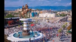 Image result for τα σκοπια με ελληνικα αγαλματα