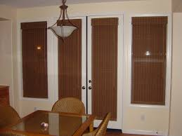 ... Best Window Coverings For French Patio Doors And Window Treatment Ideas  For Doors Blind Mice Window ...