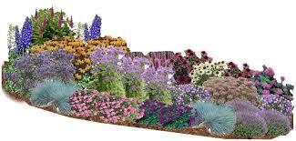 Small Picture Extremely Inspiration Perennial Garden Design Modest Design Ideas