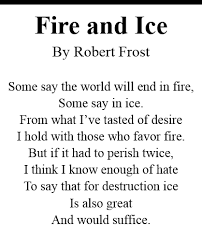 fire and ice robert collection  apenglishp3 fire and ice