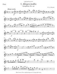 Symphony No. 40 (I. Allegro molto) – toplayalong.com