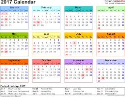 Printable 2017 Calendar 24 Calendar Printable 24 Calendar With Holidays 8
