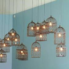 bird cage lighting bird cage light collection copper birdcage lampshade
