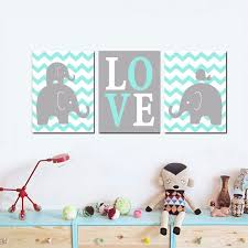 artwork for kids rooms boy elephant nursery wall art cute