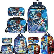 Beyblade Burst Chart Beyblade Burst Evolution Student Schoolbag Pencil Case Lunch Bag Cooler Bag 3pcs Ebay