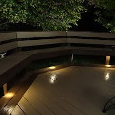 outdoor led recessed down light kit assembled in the usa dekor outdoor recessed led lighting