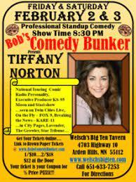 Tiffany Norton Hosted by Khadija Cooper at Bob's Comedy Bunker