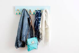 Easy Coat Rack Delectable 32 DIY Coat Rack Ideas That Are Easy And Fun
