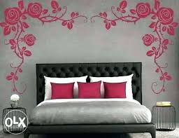 Painting Designs On Walls Bedroom Wall Painting Wall Paint Design Wall Pattern Bedroom