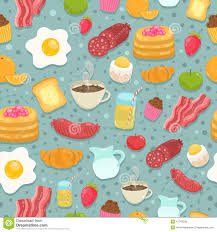 cute cooking wallpaper. Plain Cute Cute Seamless Pattern With Breakfast Food Throughout Cooking Wallpaper
