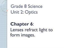 Light Ppt For Class 8 Ppt Grade 8 Science Unit 2 Optics Powerpoint Presentation