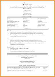 Medical Assistant Resume – Armni.co