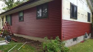 photo of hartland builders corporation red wing mn united states vinyl siding red vinyl siding a87