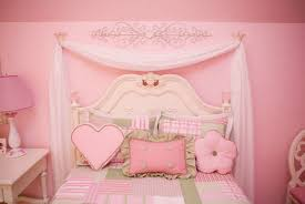 cute green pink bedroom decorating ideas pink bedroom wall color white lacquered wood end table