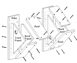 Birdhouse and Nest Box Plans for Several Bird Species   The    Birdhouse and Nest Box Plans for Several Bird Species   The Birders Report