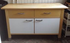 ikea varde kitchen unit solid wood free standing