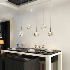 bar pendant lighting. T Transparent Crystal LED Dining Room Bar Pendant Light Modern Fashion Lamps For Home Living Lighting F