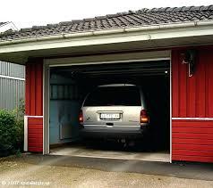 open the garage car in garage with open garage door open garage door with iphone app