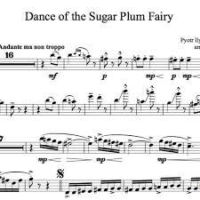 dance of the sugar plum fairy sheet music dance of the sugar plum fairy karaoke sample viola by lindsey