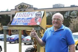 Hillary goes to prison in Hanson – and escapes - News - The Enterprise,  Brockton, MA - Brockton, MA
