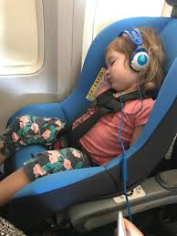 i have found that those who are good car seat sleepers have the best chance of sleeping on a plane in their car seat but there really are no guarantees at