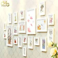 wall frame ideas super high flowers wood wall frames for picture frame ideas set used for