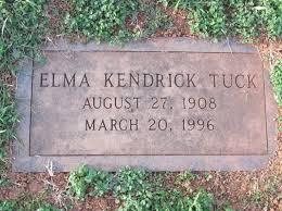 Elma Kendrick Tuck (1908-1996) - Find A Grave Memorial