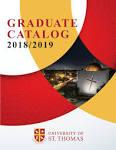 University of St. Thomas Graduate Catalog by university of st ...