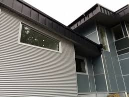metal cladding corrugated siding custom metal gutters nortek exteriors victoria installation company