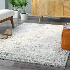 brandt machine woven greywhite area rug grey white rug t6