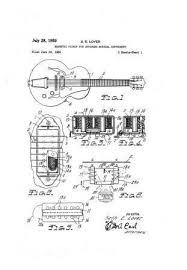 usa patent gibson humbucker pickup tune o matic drawingss Gibson Humbucker Diagram gibson humbucker pickup & tune o matic bridge drawings company founder orville gibson made gibson humbucker pickup wiring diagram