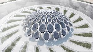 All Design Concrete Corp Mean Designs 3d Printed Concrete Roundabout Pavilion For