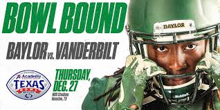 Bowl Bound College Football Charts Baylorproud Holidays In Houston Baylor To Face Vanderbilt