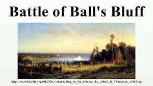 「1861 Battle of Ball's Bluff」の画像検索結果