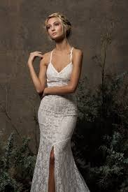 Penelope Backless Lace Wedding Dress Dreamers and Lovers