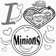 Coloring Pages For Kids Starbucks With Minion Printable Coloring
