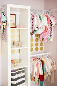 Fun nursery closet! Idea from Strawberry Swing and Things.