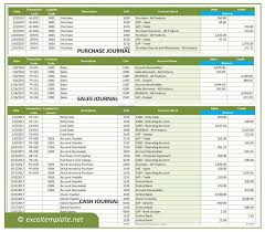 Bookkeeping Journal Template Accounting Journal Template Free Download And Software