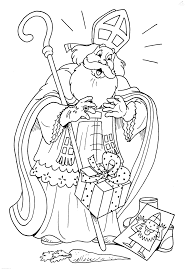 1001 Kleurplaten Sinterklaas Sint Sint Laat Kado Vallen