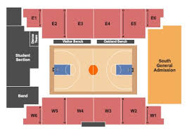 Flames Central Seating Chart Athletics Center Orena Tickets And Athletics Center Orena