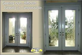 front door glass cover replace the clear glass inserts in tall double doors with decorative glass