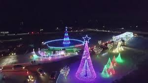 Mn Light Show Celebrate The Light Willmar Christmas Lights Aerial Drone Footage 2015 Dji Phantom 3