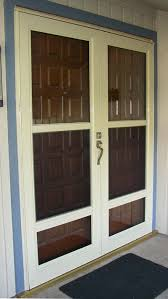 storm doors from the window connection